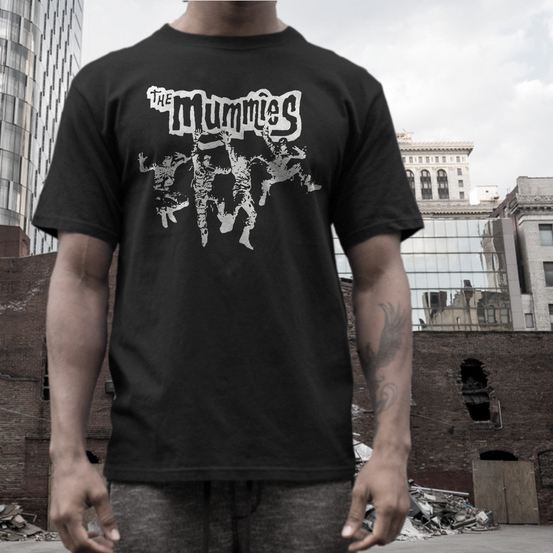 the mummies t shirt band