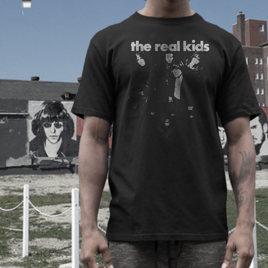 the Real Kids    T shirt      band