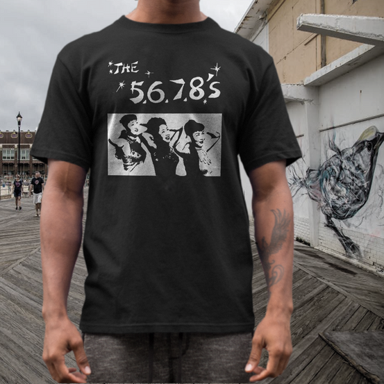 the 5.6.7.8's t shirt band
