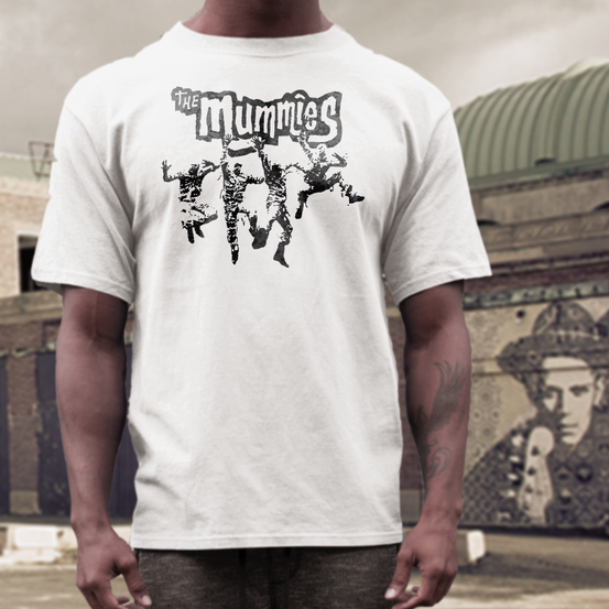 the mummies band t  shirt garage punk lo-fi