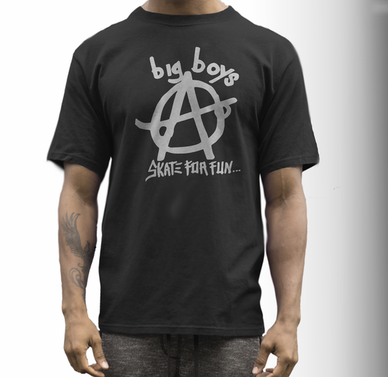 big boys t shirt skate for fun
