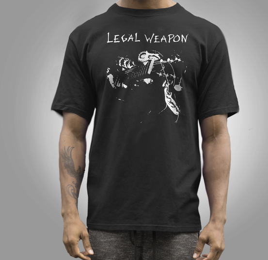 Legal Weapon band t shirt