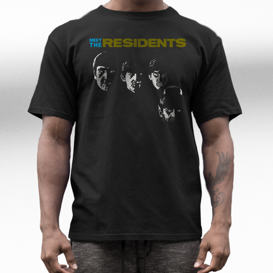 the Residents band t shirt
