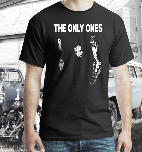 the only ones band t shirt