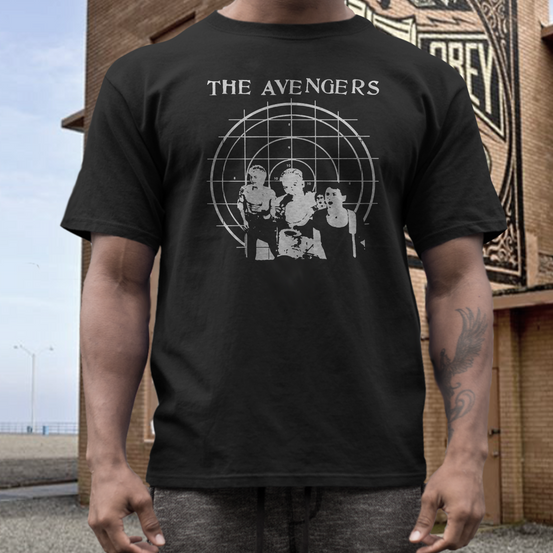 the Avengers  band t shirt