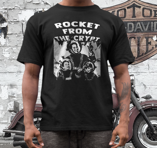 Rocket from the Crypt band t shirt