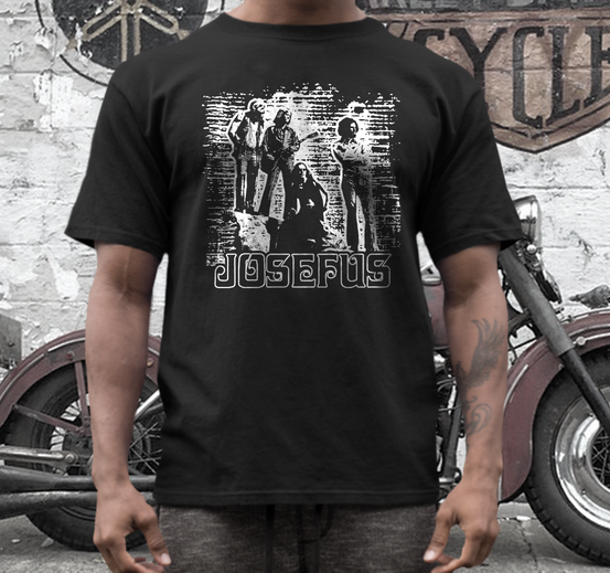 Josefus band t shirt texas hard rock metal