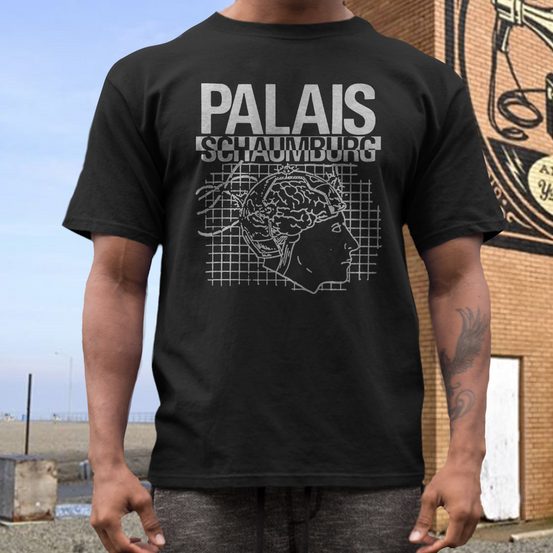 Palais Schaumburg band t shirt  German post punk  New Wave   Einstürzende Neubauten