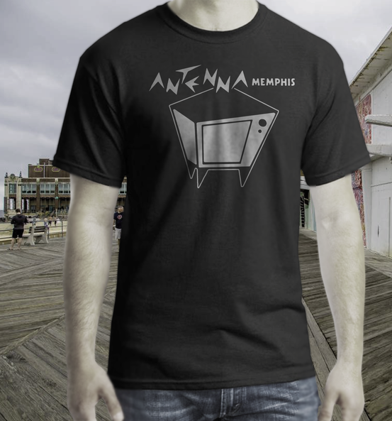 Antena  club t shirt memphis punk