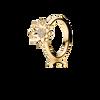 Lotus ring - brillanter i 18K guld