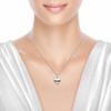 Utzon Jewellery Copenhagen – smykker – lille One & Only halskæde i sølv - model