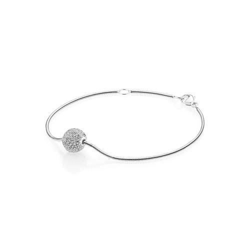 Utzon Jewellery Copenhagen – Smykker – Sphere-armbånd i sølv/safir