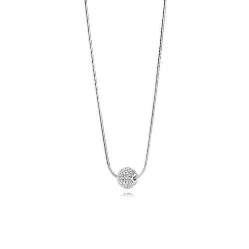 Utzon Jewellery Copenhagen Smykker - Halskæde i sølv med safir