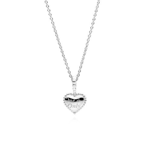 Utzon Jewellery Copenhagen – smykker – lille One & Only halskæde i sølv