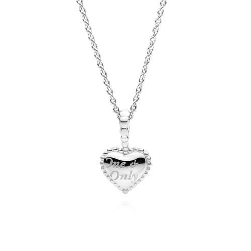 Utzon Jewellery Copenhagen – Smykker – Stor One & Only halskæde i sølv