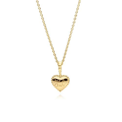 Utzon Jewellery Copenhagen - Smykker - Lille One & Only halskæde i 18 karat guld