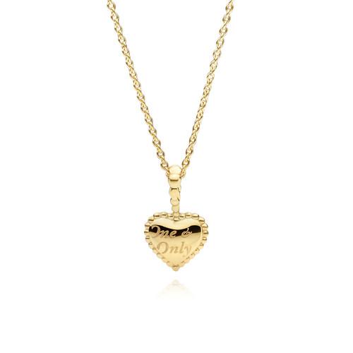 Utzon Jewellery Copenhagen - Smykker - One & Only halskæde i 18 karat guld