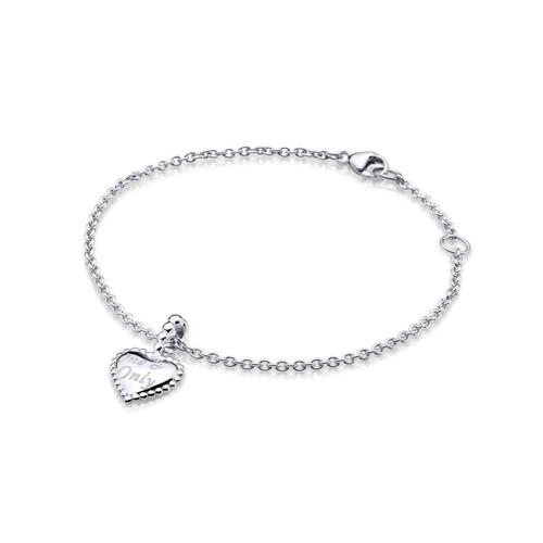 Utzon Jewellery Copenhagen - Smykker - One & Only armbånd i sølv