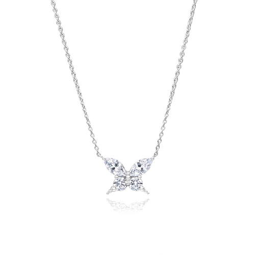 Utzon Jewellery Copenhagen – Smykker – Wonders of Nature halskæde i brillant/platin