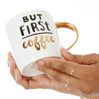 but first Coffee 14 oz Ceramic Mug