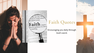 Encouraging Daily Bible Verses and Quotes