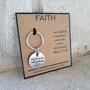 Mini Key Chain Faith Can Move Mountains