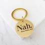 Rosa Parks Nah Mantra Black History Gold Key Chain