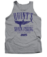Jaws Quints Adult Tank Top T-Shirt Athletic Heather