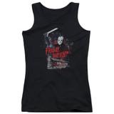 Friday the 13th Cabin Junior Women's Tank Top T-Shirt Black