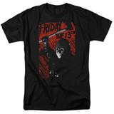 Friday the 13th Jason Lives Adult 18/1 T-Shirt Black