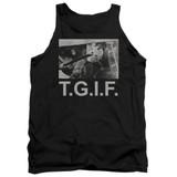Friday the 13th TGIF Adult Tank Top T-Shirt Black