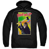Friday the 13th Retro Game Adult Pullover Hoodie Sweatshirt Black