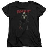 Friday the 13th Chchch Ahahah Women's T-Shirt Black