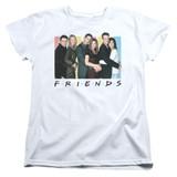 Friends Cast Logo Women's T-Shirt White
