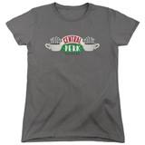 Friends Central Perk Logo Women's T-Shirt Charcoal