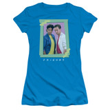 Friends 80S Flashback Junior Women's T-Shirt Turquoise