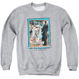 Friends Any More Clothes Adult Crewneck Sweatshirt Athletic Heather