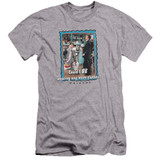 Friends Any More Clothes Premuim Canvas Adult Slim Fit 30/1 T-Shirt Athletic Heather