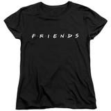 Friends Logo Women's T-Shirt Black