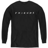 Friends Logo Youth Long Sleeve Black
