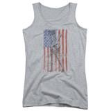 MASH Hang Em High Junior Women's Tank Top T-Shirt Athletic Heather