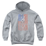 MASH Hang Em High Youth Pullover Hoodie Sweatshirt Heather