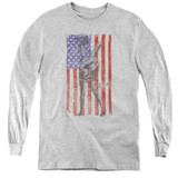 MASH Hang Em High Youth Long Sleeve T-Shirt Athletic Heather