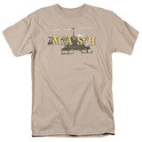 MASH Chopper Adult 18/1 T-Shirt Sand