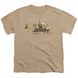 MASH Chopper Youth T-Shirt Sand