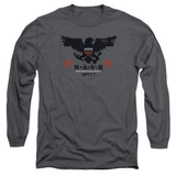 MASH Eagle Adult Long Sleeve T-Shirt Charcoal