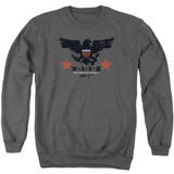 MASH Eagle Adult Crewneck Sweatshirt Charcoal