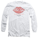 MASH Hot Lips Adult Long Sleeve T-Shirt White