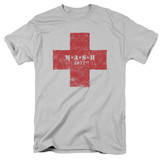 MASH Red Cross Adult 18/1 T-Shirt Silver