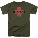 MASH MASH Cross Adult 18/1 T-Shirt Military Green